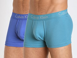 Calvin Klein Body Slim Fit 2-Pack Trunk Cobalt/Odyssey