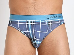Calvin Klein One Microfiber Hip Brief Harper Plaid