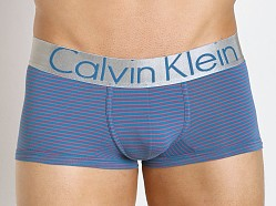 Calvin Klein Steel Micro Low Rise Trunk Blue Burn