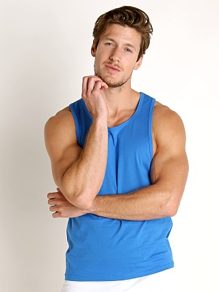 Timoteo Boardwalk Tank Top Blue