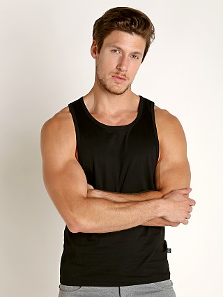 Timoteo Boardwalk Tank Top Black