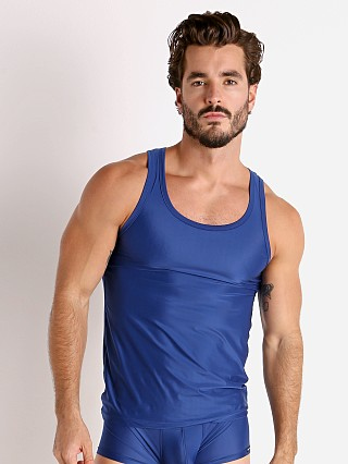 Complete the look: Rick Majors Slinky Classic Tank Top Denim