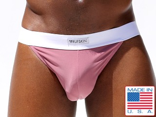 Model in melrose Rufskin Fathi Peek Back Microfiber Sport Brief