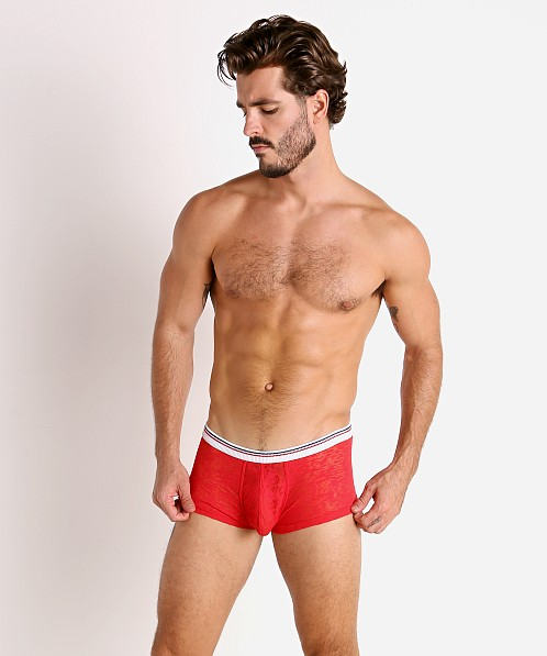 Rick Majors Burnout Trunk Red