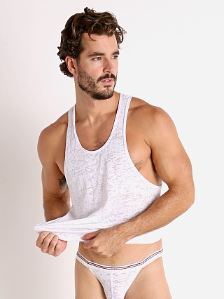 Complete the look: Rick Majors Burnout Ringer Tank Top White