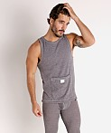 Modus Vivendi Smooth Knit Tank Top Smoke Grey, view 2