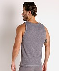 Modus Vivendi Smooth Knit Tank Top Smoke Grey, view 4