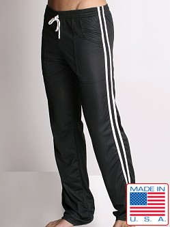 LASC Athletic Mesh Workout Pant Black