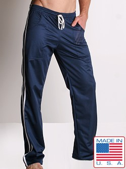 LASC Athletic Mesh Workout Pant Navy