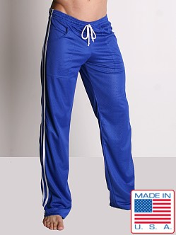 LASC Athletic Mesh Workout Pant Royal