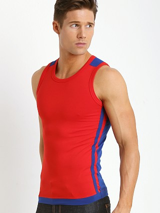 Complete the look: Modus Vivendi Pride Tank Red/Blue