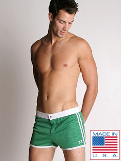 LASC Sixties Mesh Trunk Green