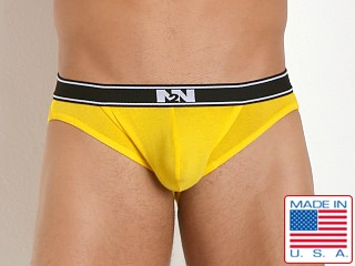 N2N Bodywear Classic Cotton Pouch Brief Sunny Yellow
