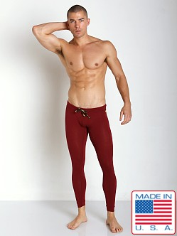 N2N Bodywear Cotton Sports Runner Maroon