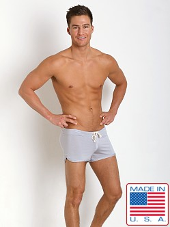 N2N Bodywear Lounge Short Iced Silver