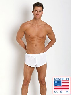 N2N Bodywear Dream Collection Split Short White