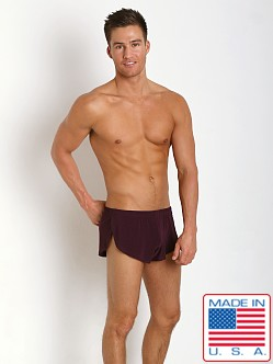 N2N Bodywear Dream Collection Split Short Napa Grape
