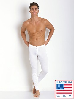 N2N Bodywear Campfire Thermal Long John Natural