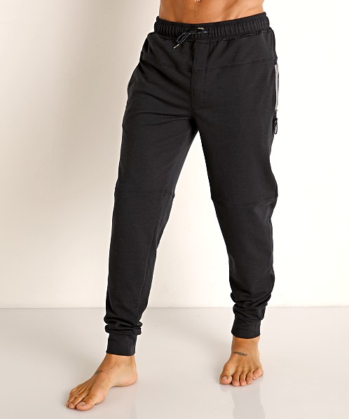 Speedo Male Relaxed Jogger Pant Black Heather