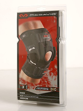 Complete the look: McDavid Sports Medicine Knee Brace with Disk Hinges Black