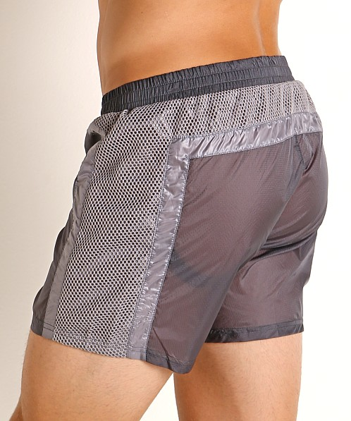 Nasty Pig Visibility Rugby Short Grey