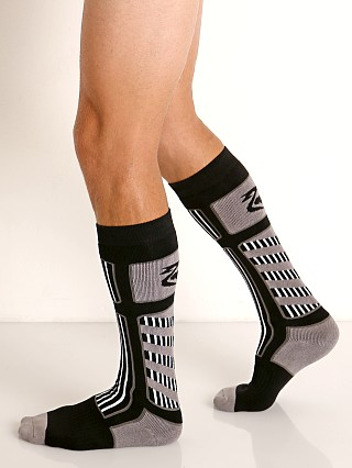 Nasty Pig Visibility Rugby Socks Grey