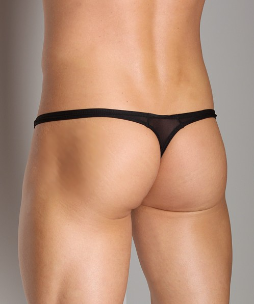 Gregg Homme Torridz HyperStretch Thong Black