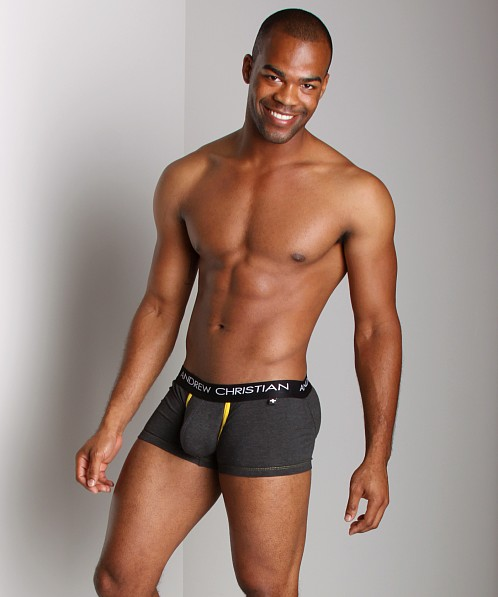 Andrew Christian Flashback Pro Boxer Charcoal