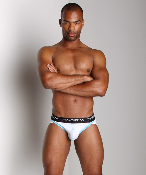 Andrew Christian Flashback Pro Brief White