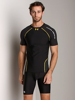 Under Armour Stretch Woven HeatGear Shortsleeve T Black
