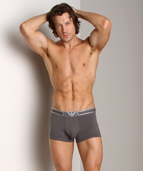 Emporio Armani Soft Cotton Trunk Asphalt Grey