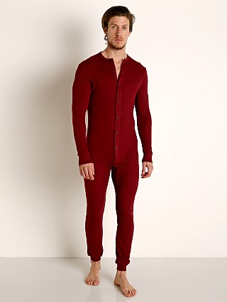Complete the look: Rick Majors American Classic Back Flap Union Suit Burgundy