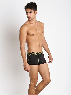 Emporio Armani Brushed Microfiber Trunk Black
