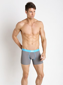 SAXX Quest Modern Fit Fly Boxer Smoke/Malibu