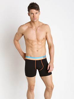 SAXX Fiesta Boxer Black/Sunset