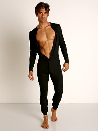 Complete the look: Rick Majors American Classic Back Flap Union Suit Black