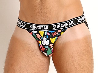 Model in ink Supawear POW Jockstrap