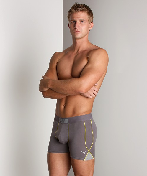 Puma Fitness Boxer Brief Grey