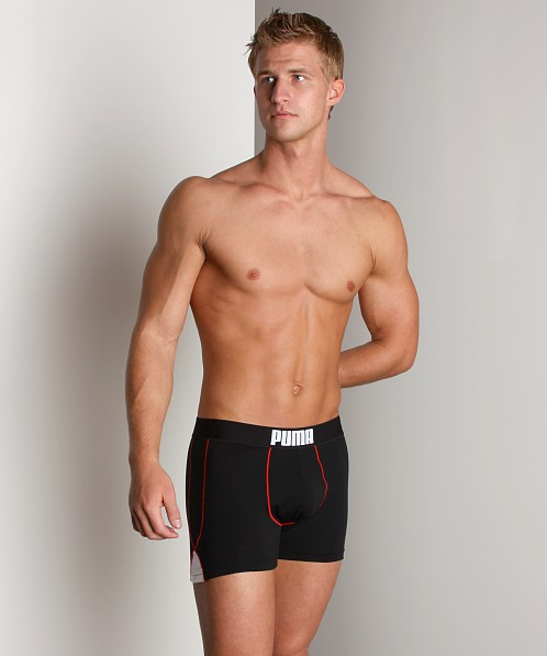 Puma Fitness Boxer Brief Black