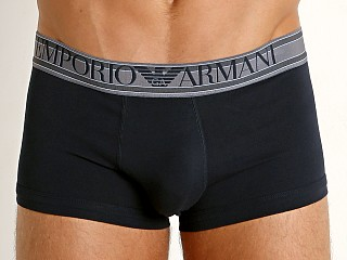 Emporio Armani Highlighted Logo Trunk Marine