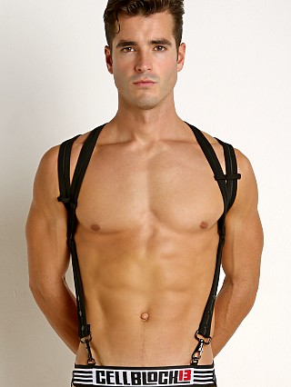 You may also like: Cell Block 13 Spider Neoprene Harness Black