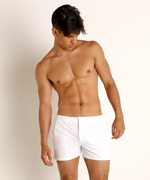 LASC Malibu Swim Shorts White