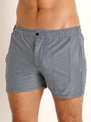You may also like: LASC Malibu Swim Shorts Black Gingham Checks