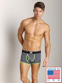Go Softwear Glow Trunk Heather Charcoal/Lime