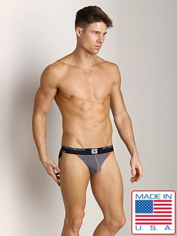 Go Softwear Glow Jock Strap Heather Charcoal/Orange