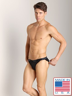 Go Softwear Padded Brief (Front and Back) Black