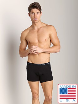 Go Softwear Padded Boxer Brief (Back) Black