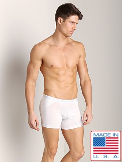 Go Softwear Padded Boxer Brief (Back) White
