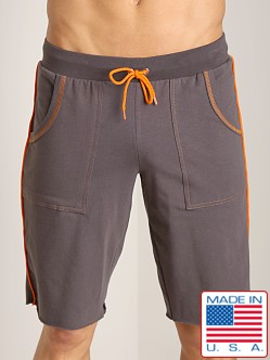 Go Softwear Active Workout Short Charcoal/Orange