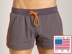 Go Softwear Active Volley Short Charcoal/Orange